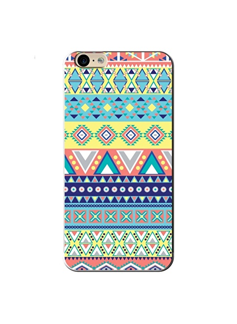 People's Cover iPhone 6/6S Kabartmalı Kapak Renkli